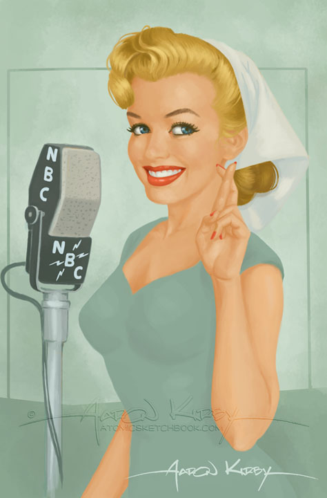 Norma Jeane by Aaron Kirby(wb)