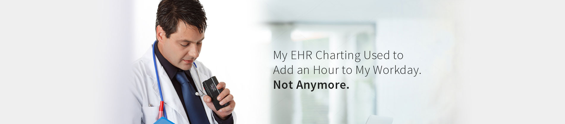 Improve EHR Usability, Simply Dictate!