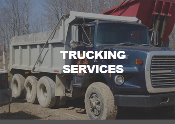 Trucking Services by Cotter Dragline Services Mount Pleasant Michigan Mid Michigan
