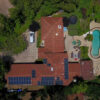 Rancho Santa Fe Solar Panel and Battery Storage Installation
