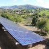Residential Solar Panels Outside