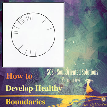 SOS - Develop Healthy Boundaries