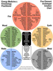 Five Element Emotion Chart - Harmful Attitudes