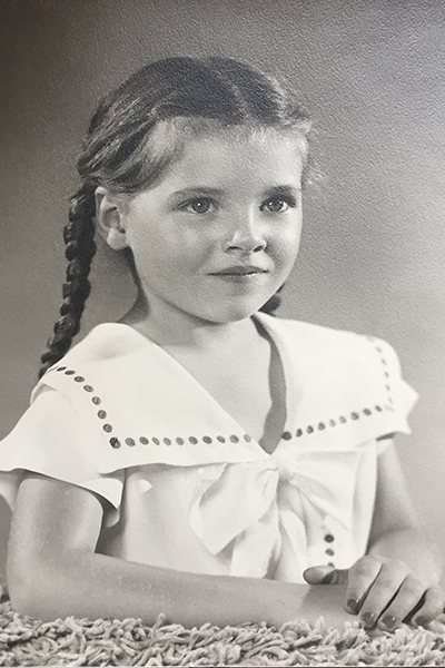 Lola as a child
