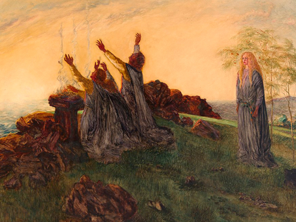 The Passing of Saint Brigid