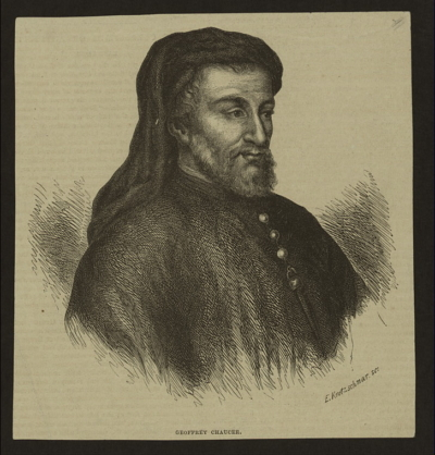 Chaucer, NYPL Digital Collection