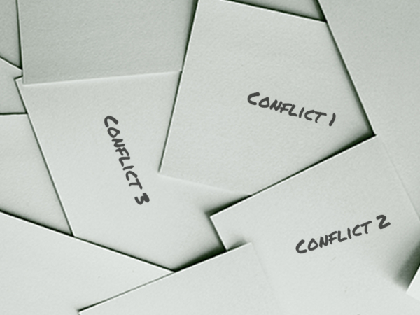 Issue Conflict Cards