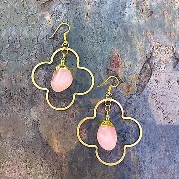 Rose-Quartz-Earrings 1