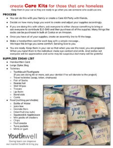 Care Kits_YouthWell_2020