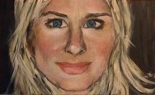 "Small Self Portrait 4""x6"""