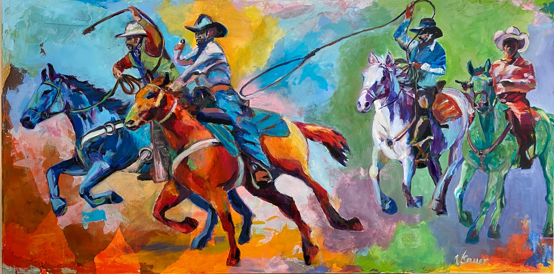 Four Horsemen of the Apocalypse American Outlaw style