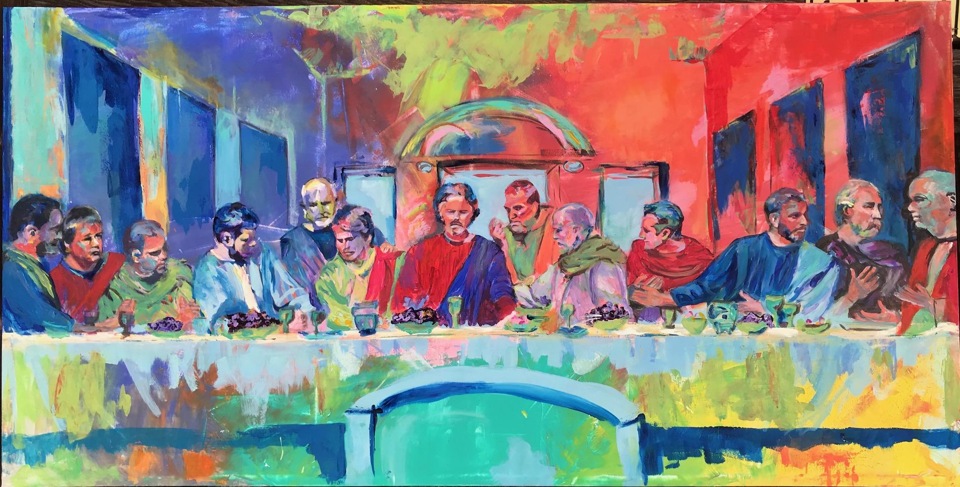 "Last Supper 30""x48"""