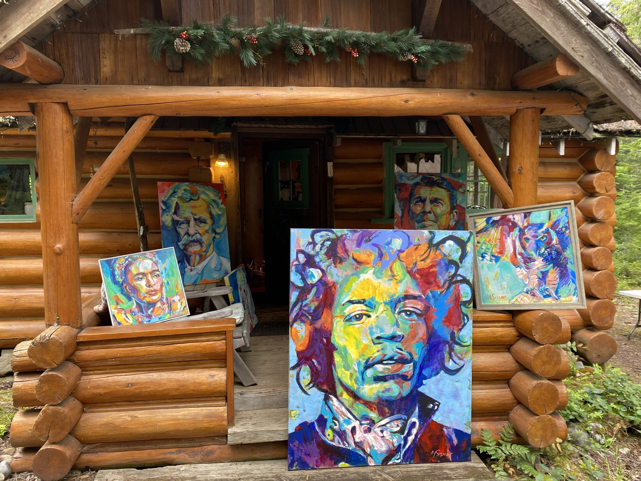 Jimi out front