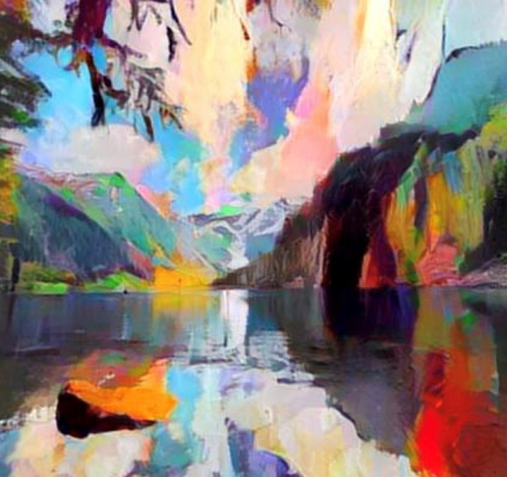 PNW Alpine Lake