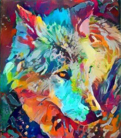 Crouching Wolf