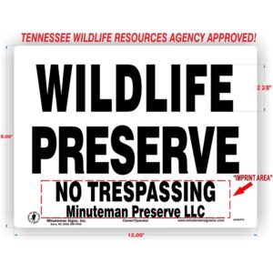 Tennessee-wildlife-preserve-sign