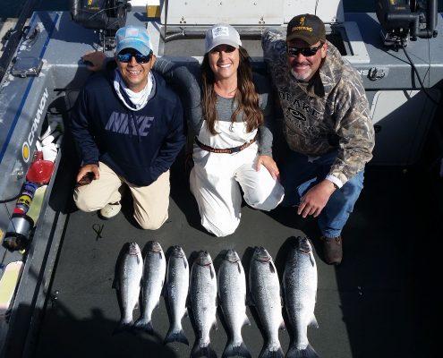 Seattle Fishing Salmon