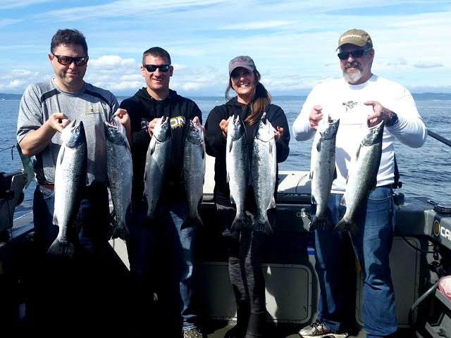 Seattle Fishing for Salmon