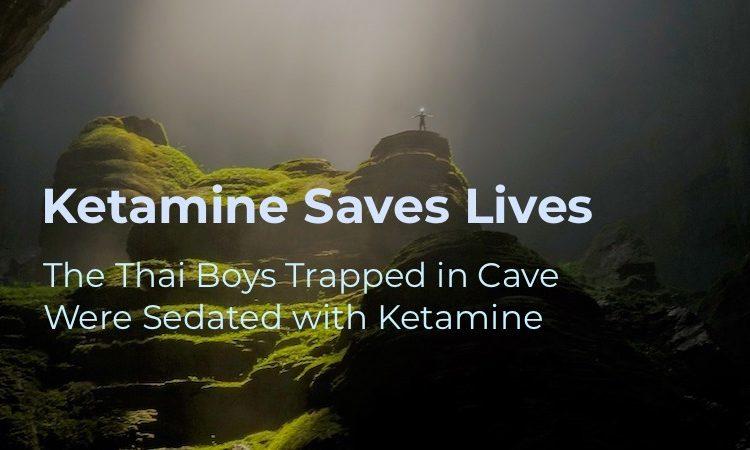 ketamine saves lives