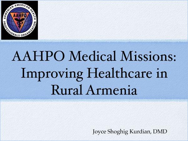 AAHPO Medical Missions KOV 2021
