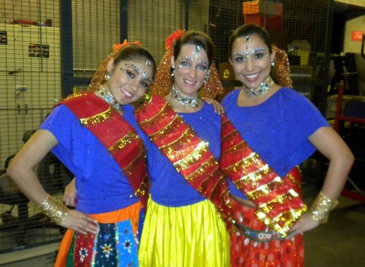 bollywood dance trio