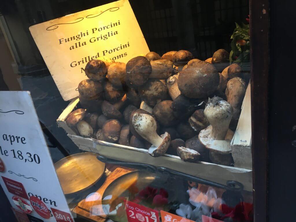 Fresh Porcini Mushrooms - Florence