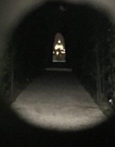 View through the Keyhole, Testaccio