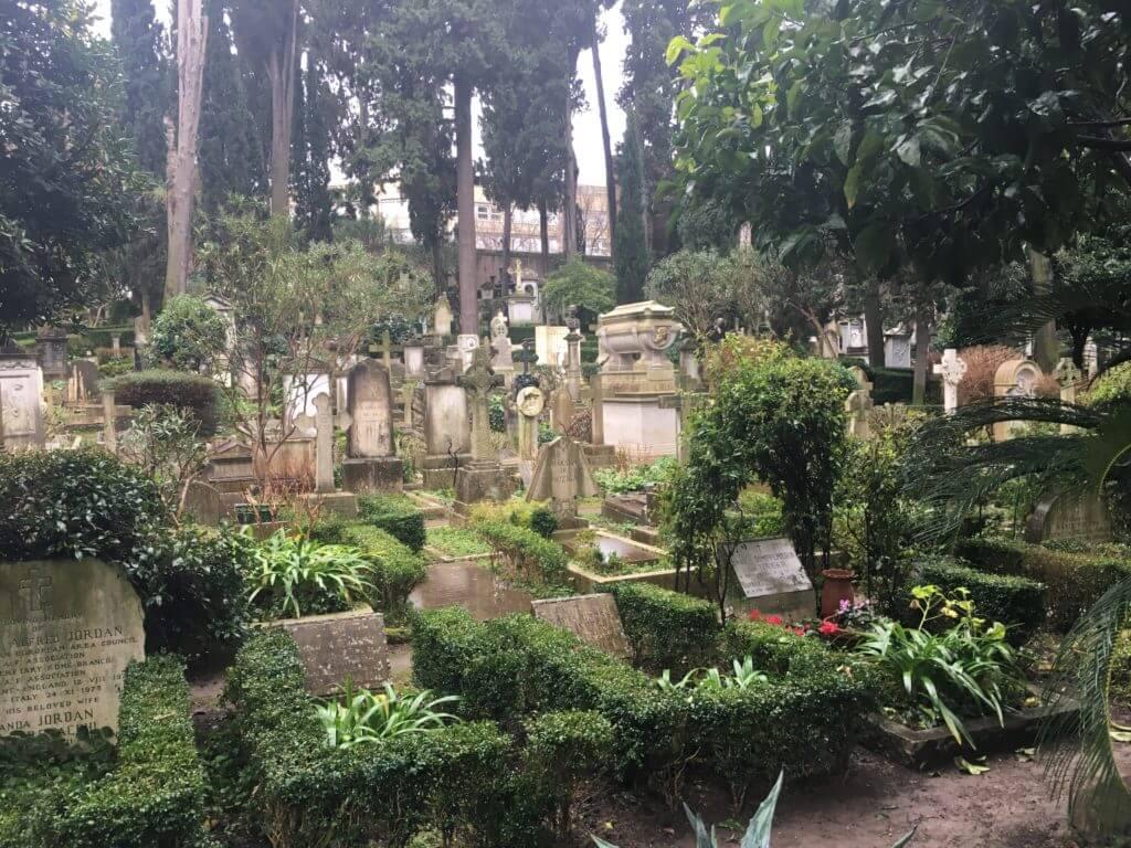 The Non-Catholic Cemetery, Testaccio, Rome