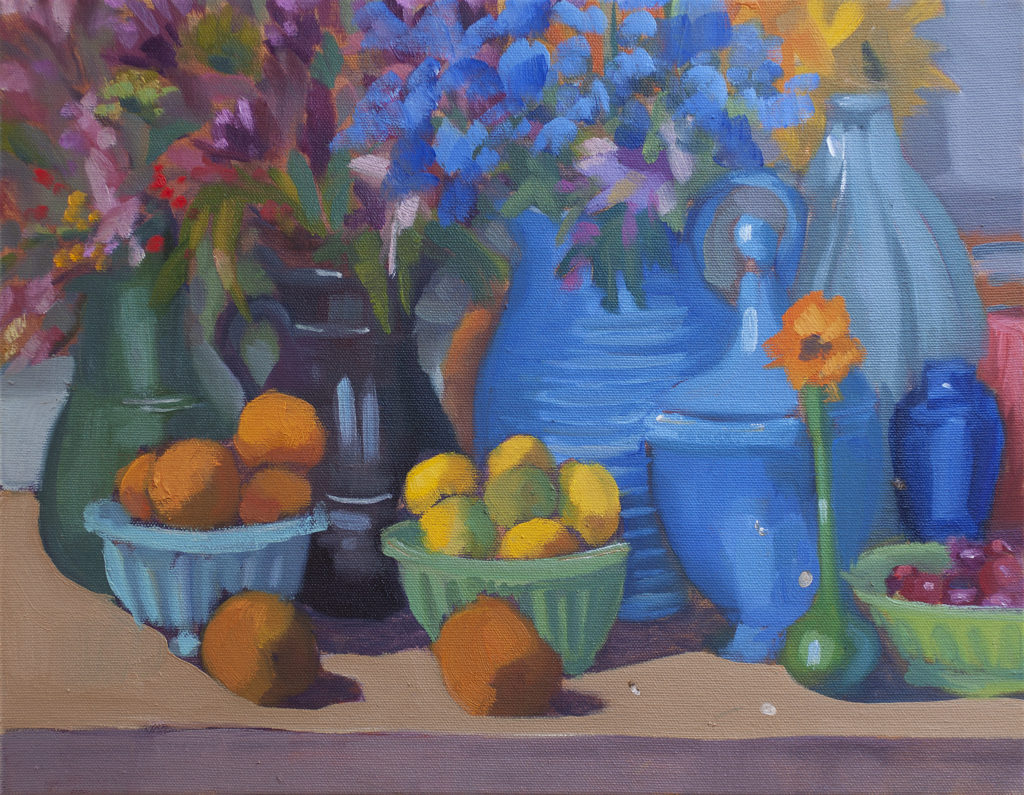 Kaffe's Jumble with Flowers by Erin Lee Gafill