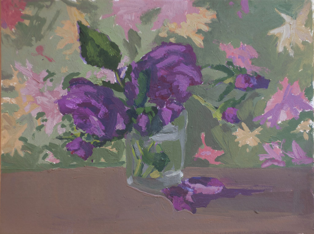 Meredith's Roses, Fallen Petals by Erin Lee Gafill