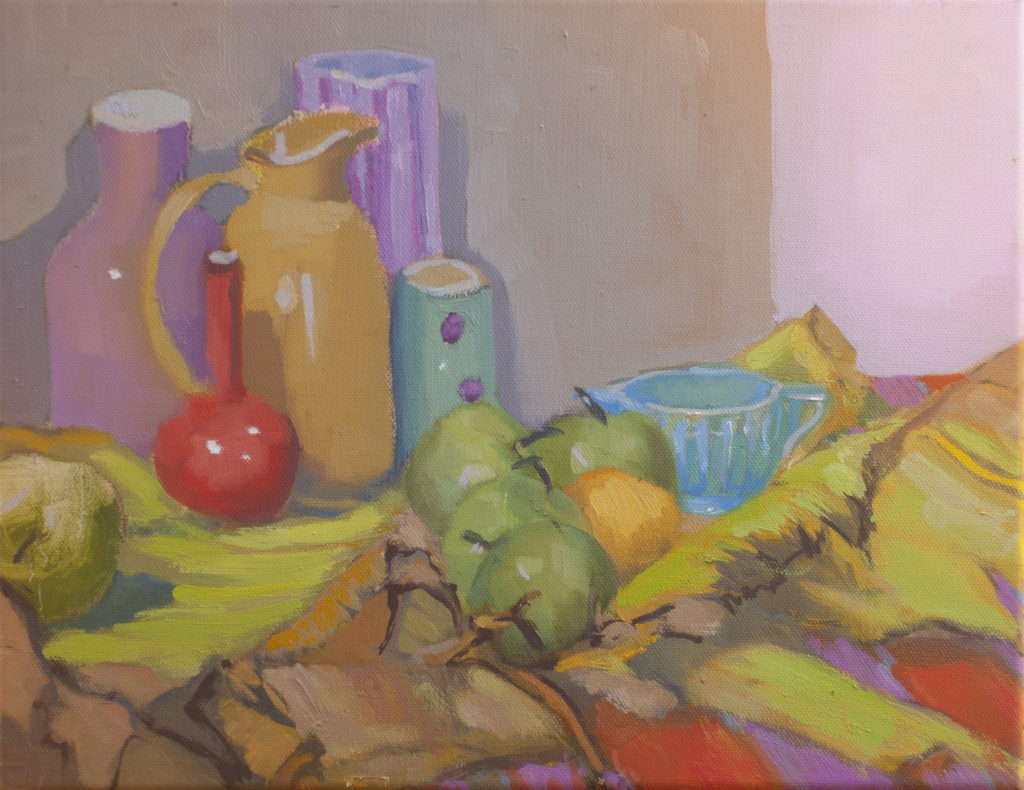 Still Life with Banana Leaf by Erin Lee Gafill