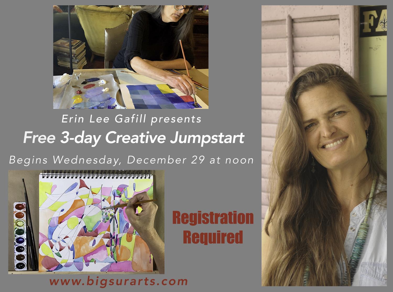 Creative Jumpstart with Erin Lee Gafill