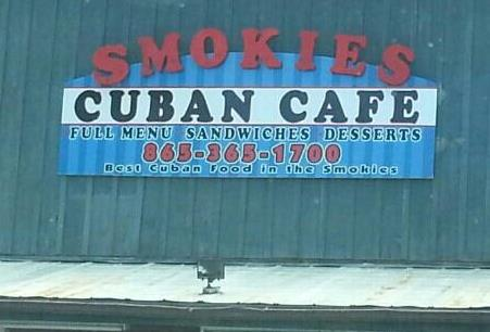 Restaurant Review of Smokies Cuban Cafe in Pigeon Forge, Tennessee