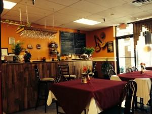 Interior of Havana Cafe