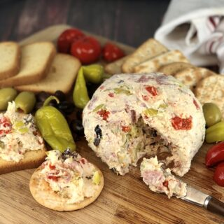 Antipasti Cheese Ball