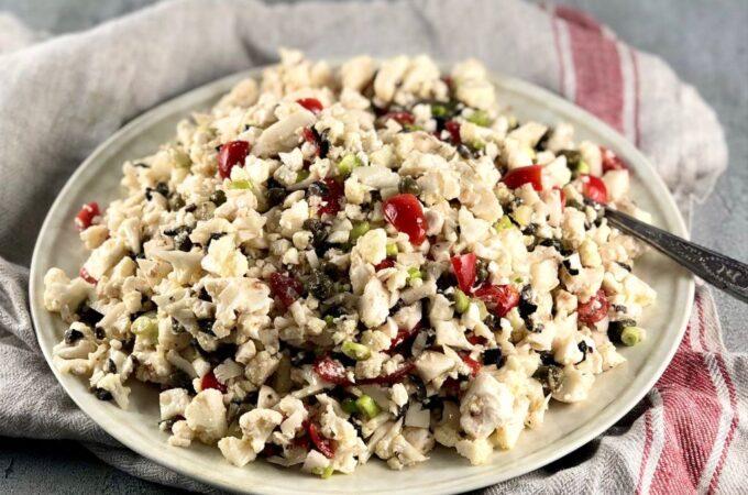 Cauliflower Confetti Salad