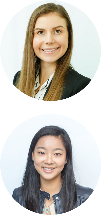 Ellen Berkley and Christy Cheung Headshots