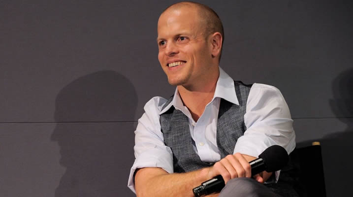 Podcaster and book author, Tim Ferriss