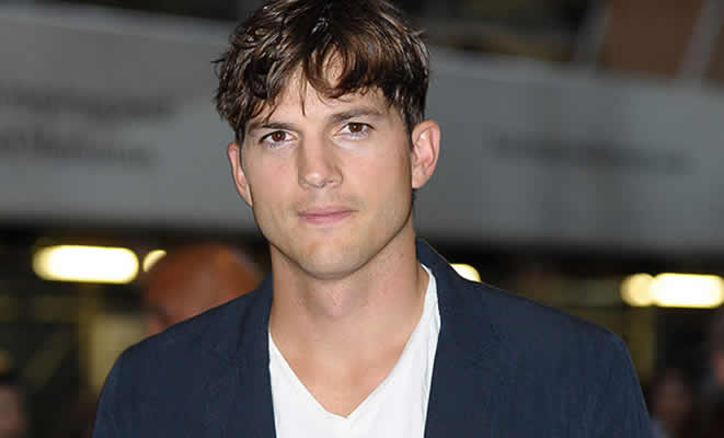 Actor and entrepreneur, Ashton Kutcher