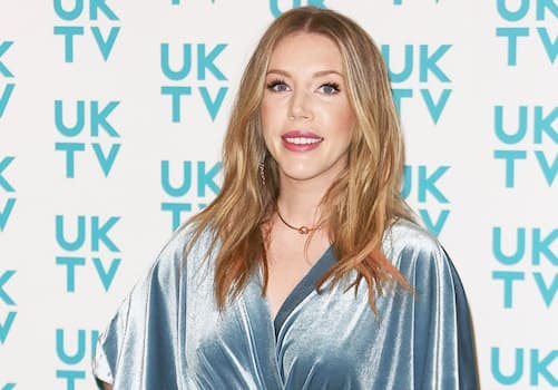 Katherine Ryan on a red carpet event