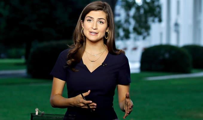 CNN reporter, Kaitlan Collins