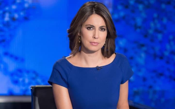 Cecilia Vega at the reporting desk