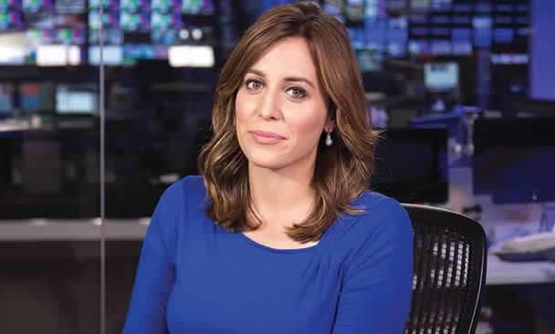 MSNBC anchor, Hallie Jackson