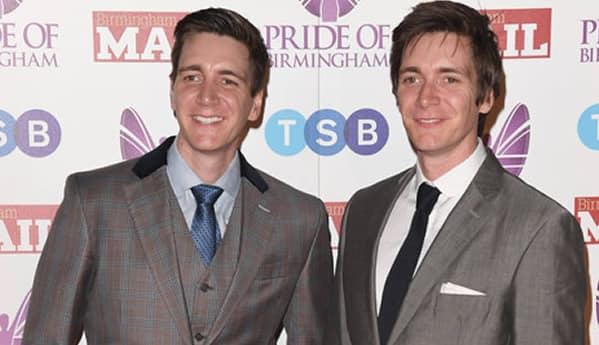 James Phelps and his brother Oliver