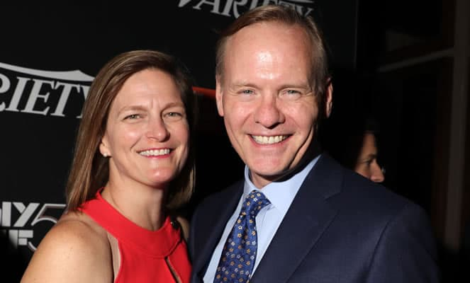 John Dickerson with his wife Anne