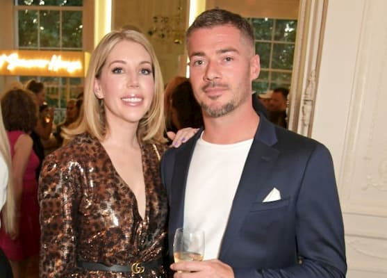 Katherine Ryan with her partner