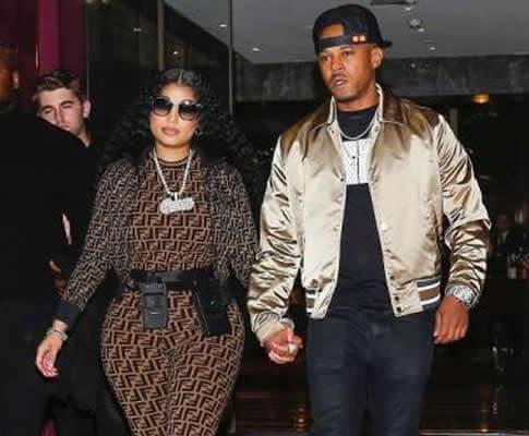 Kenneth Petty and his wife, rapper Nicki Minaj