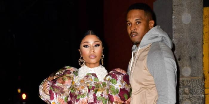 Kenneth Petty and his wife, rapper Nicki Minaj