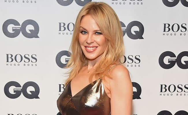 Kylie Minogue on the Red Carpet