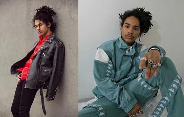 Model and Actor, Luka Sabbat